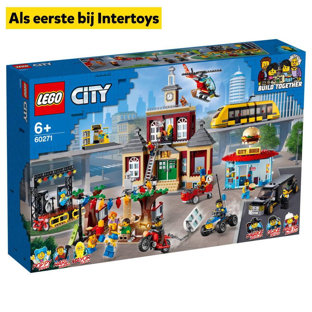 LEGO City marktplein 60271
