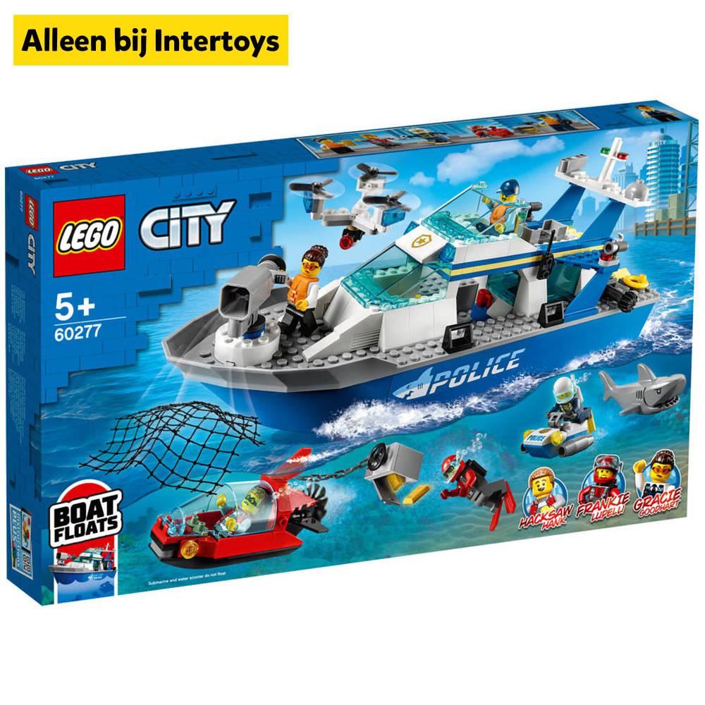 LEGO City politie patrouilleboot 60277
