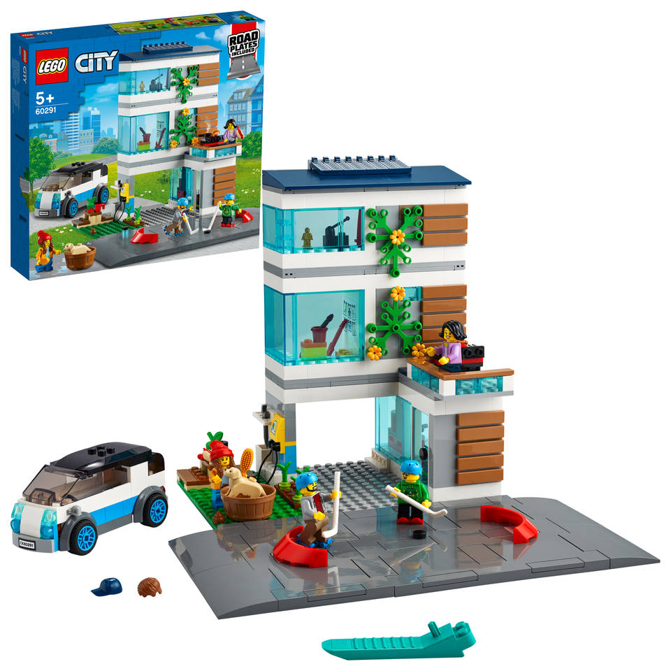LEGO City familiehuis 60291