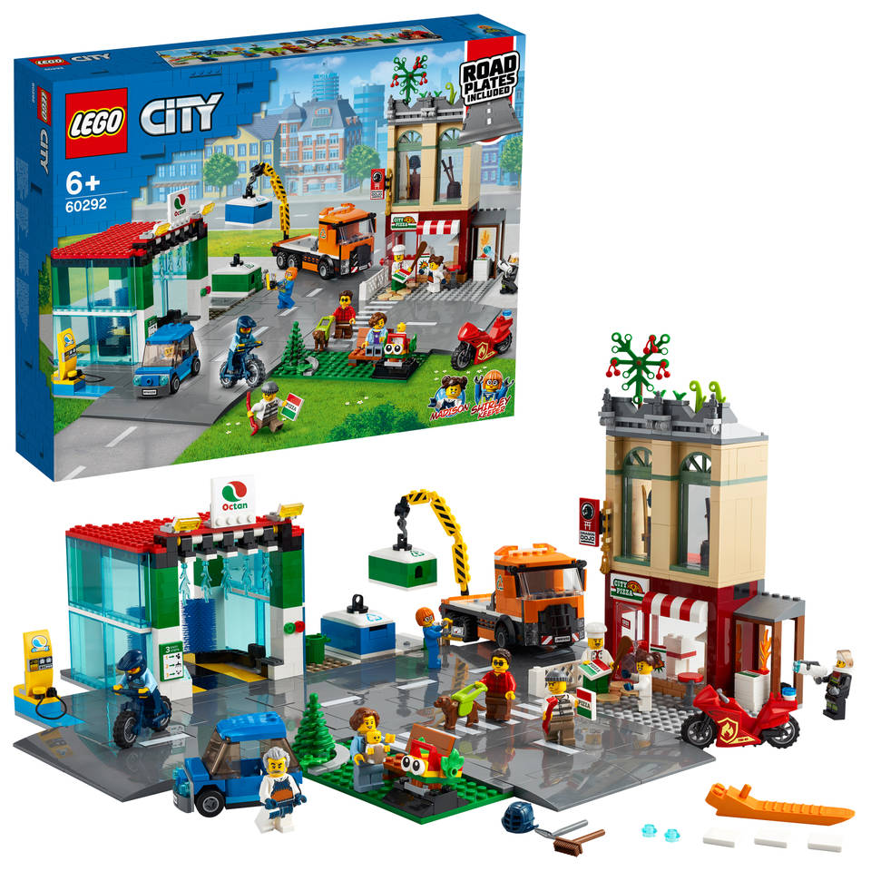 LEGO City stadscentrum 60292