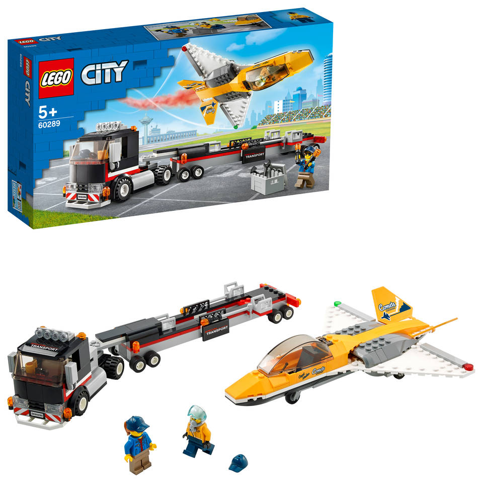 LEGO City vliegshow jet transport 60289