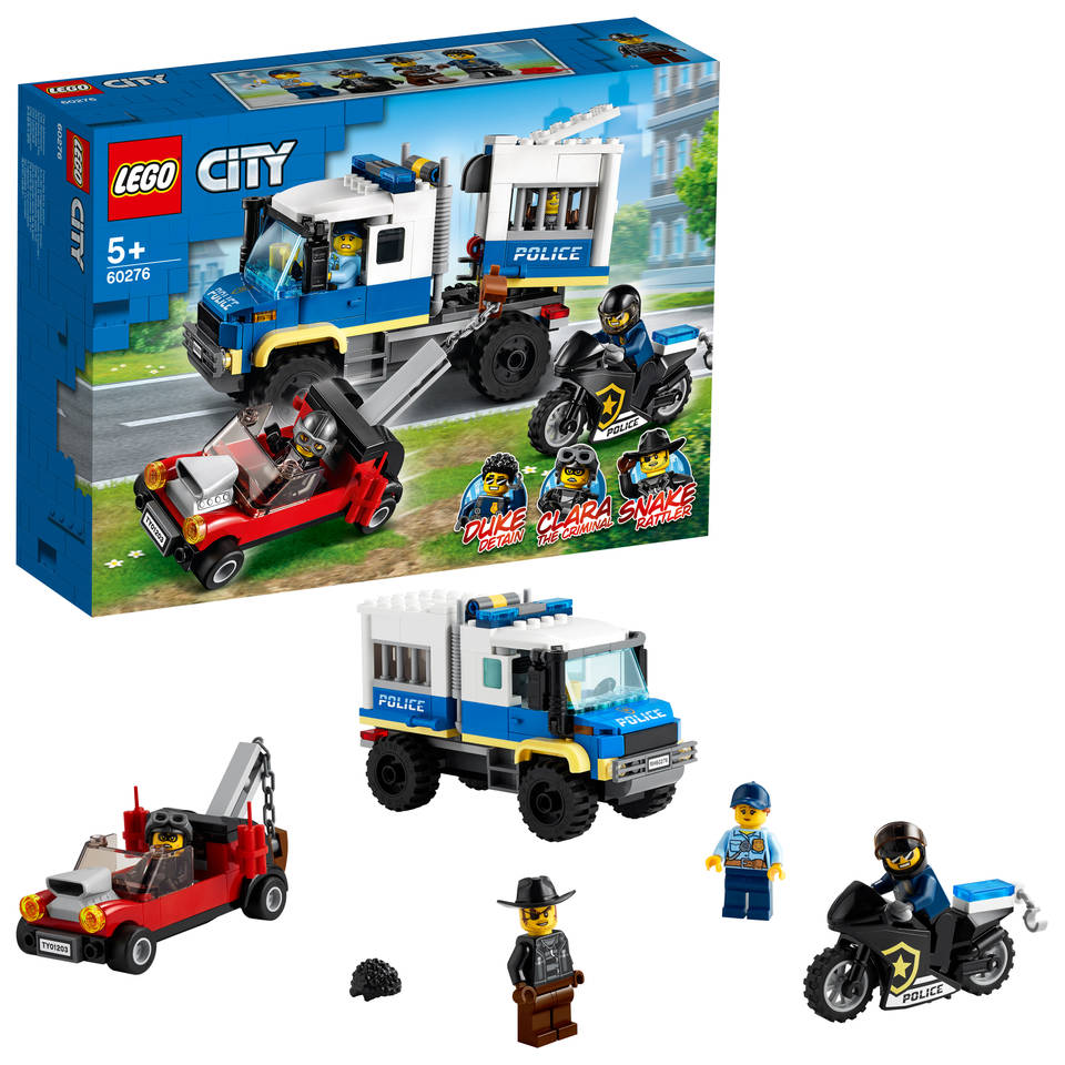 LEGO City politie gevangenentransport 60276