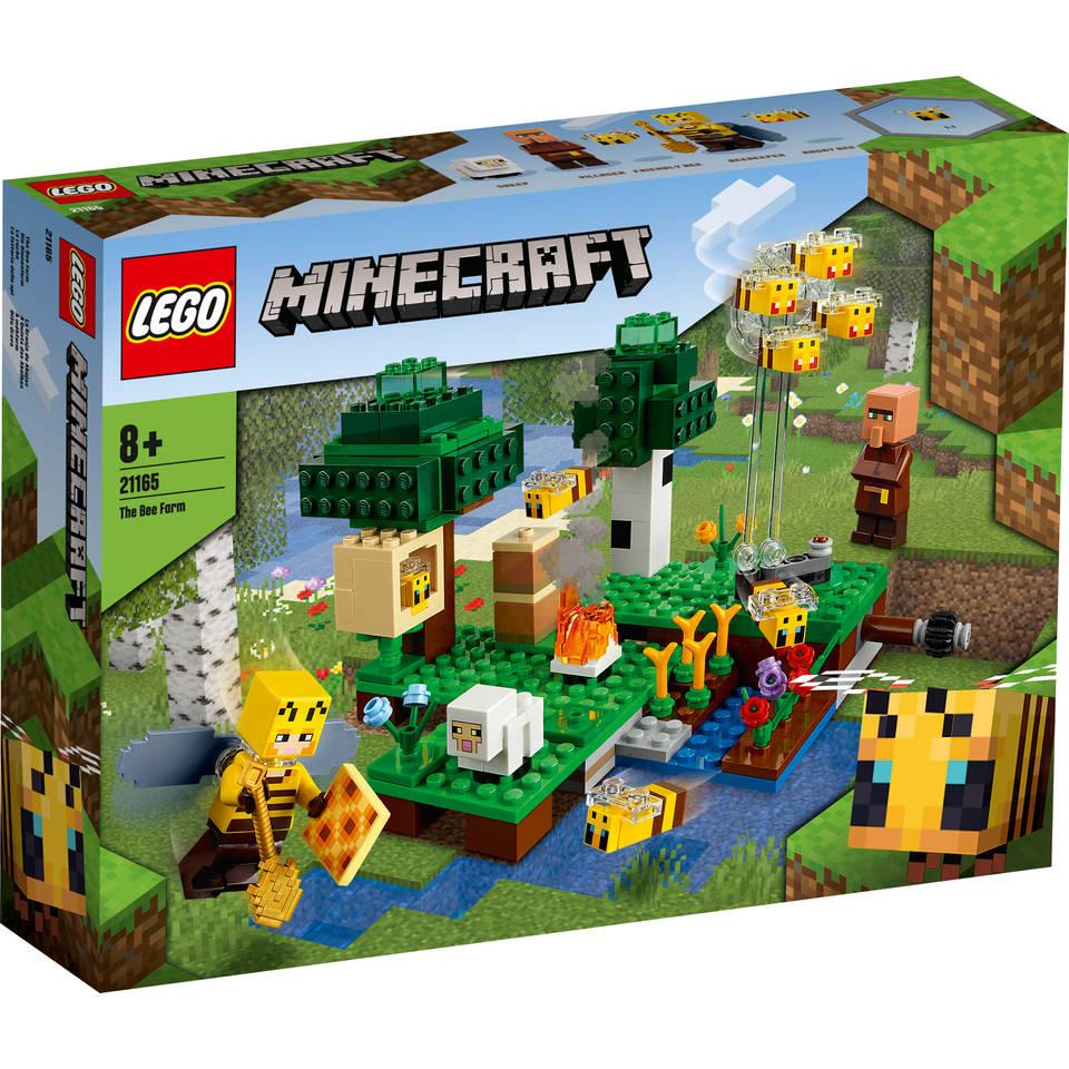 LEGO Minecraft de bijenhouderij 21165