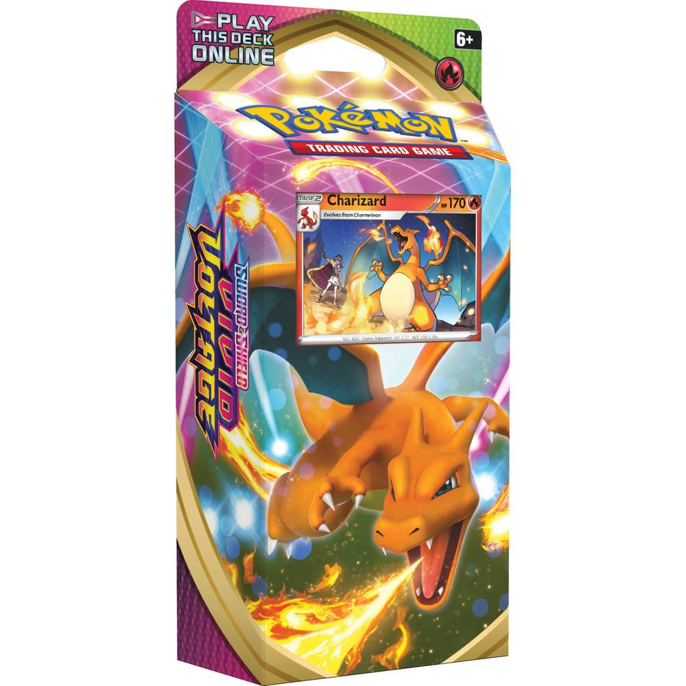 Pokémon TCG Sword & Shield Vivid Voltage Charizard
