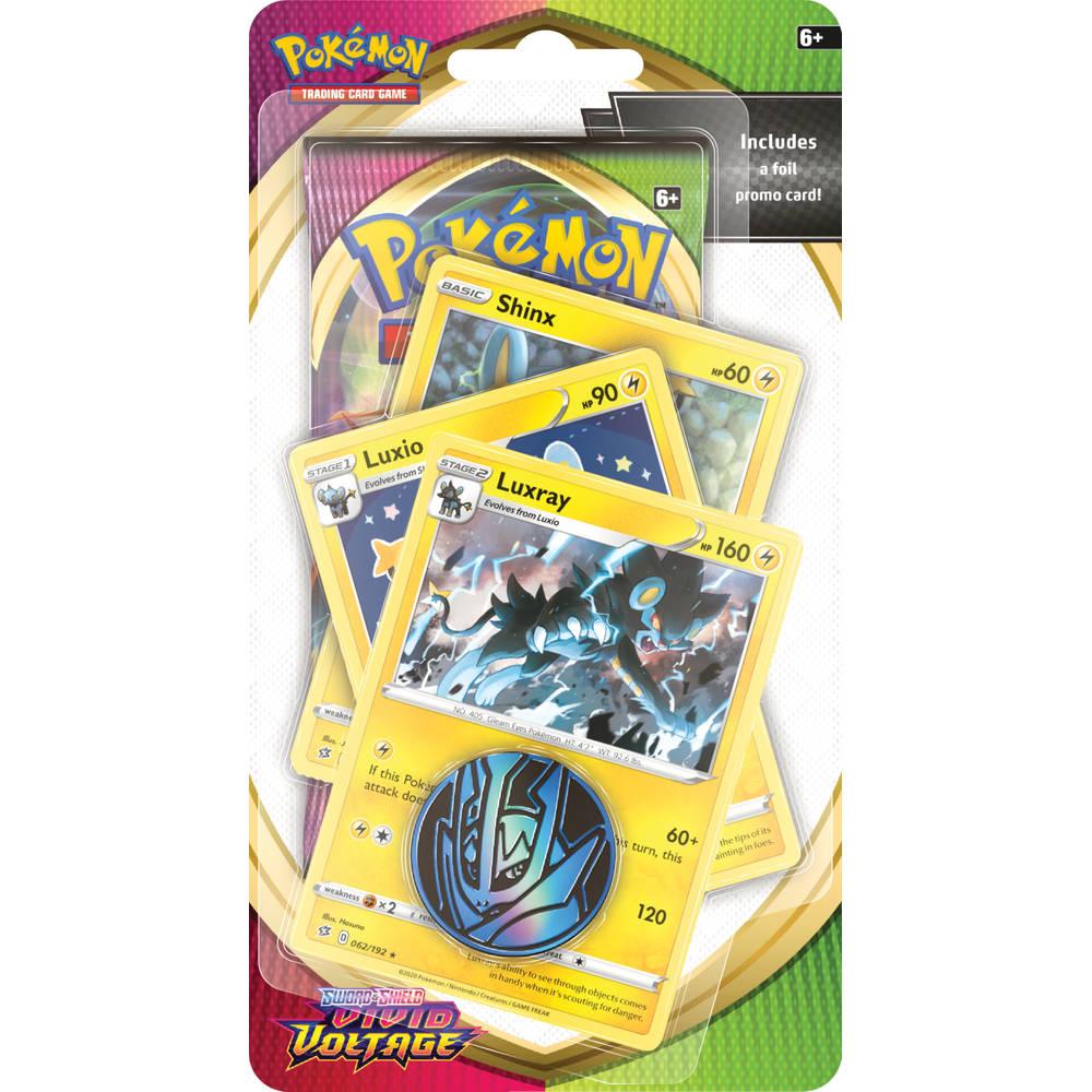 Pokémon TCG Sword & Shield Vivid Voltage blister Shinx + Luxio + Luxray