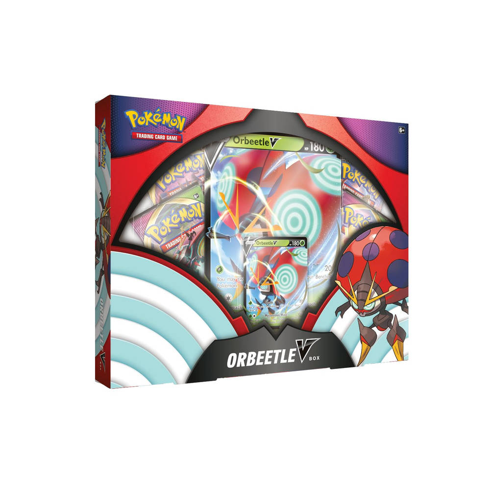 Pokémon Trading Cards Game Orbeetle V box