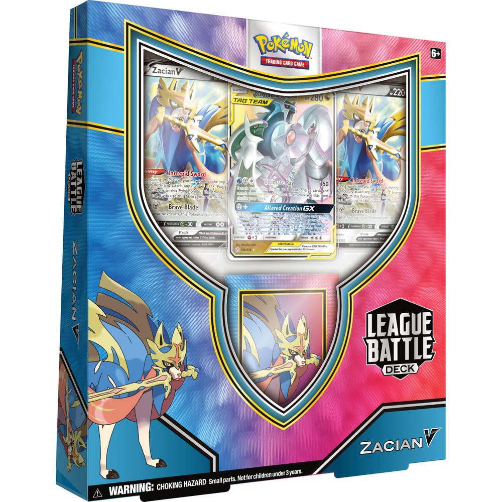 Pokémon Trading Cards Game League Battle Deck Zacian V