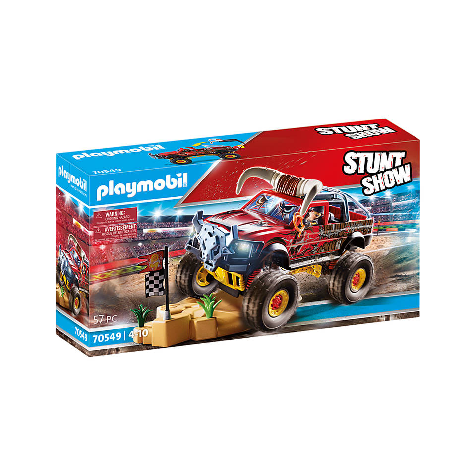 PLAYMOBIL Stuntshow monstertruck met hoorns 70549