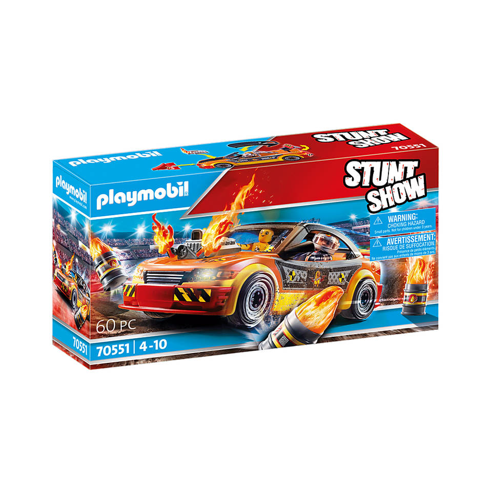 PLAYMOBIL Stuntshow Crashcar 70551