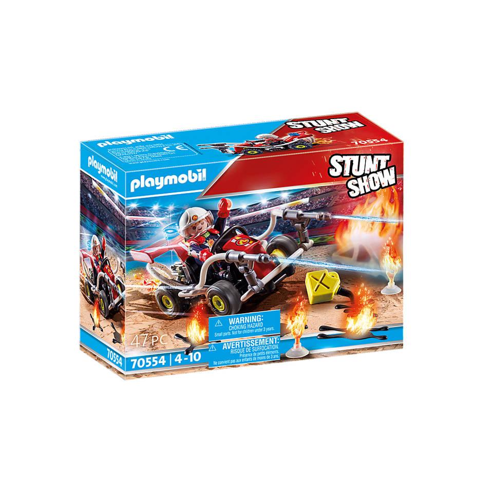 PLAYMOBIL Stuntshow brandweerkart 70554