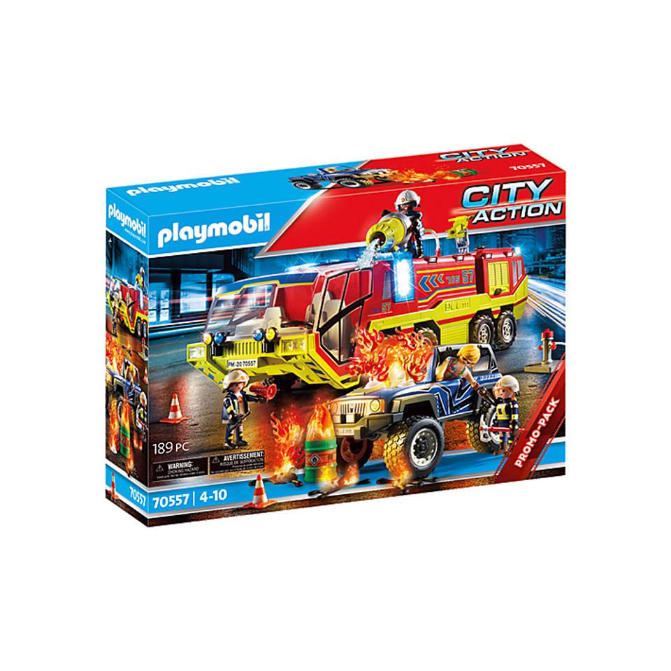 PLAYMOBIL City Action brandweer met brandweerwagen 70557