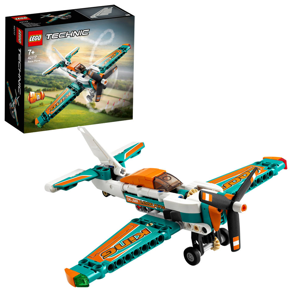 LEGO Technic racevliegtuig 42117