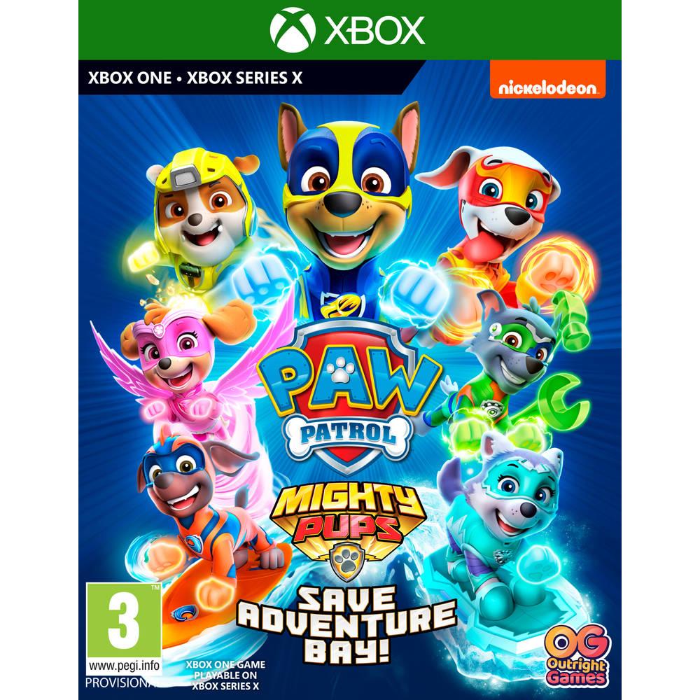 Xbox Series X & Xbox One PAW Patrol Mighty Pups Save Adventure Bay