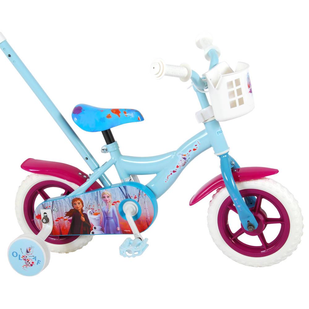 Disney Frozen 2 kinderfiets - 10 inch - blauw/paars