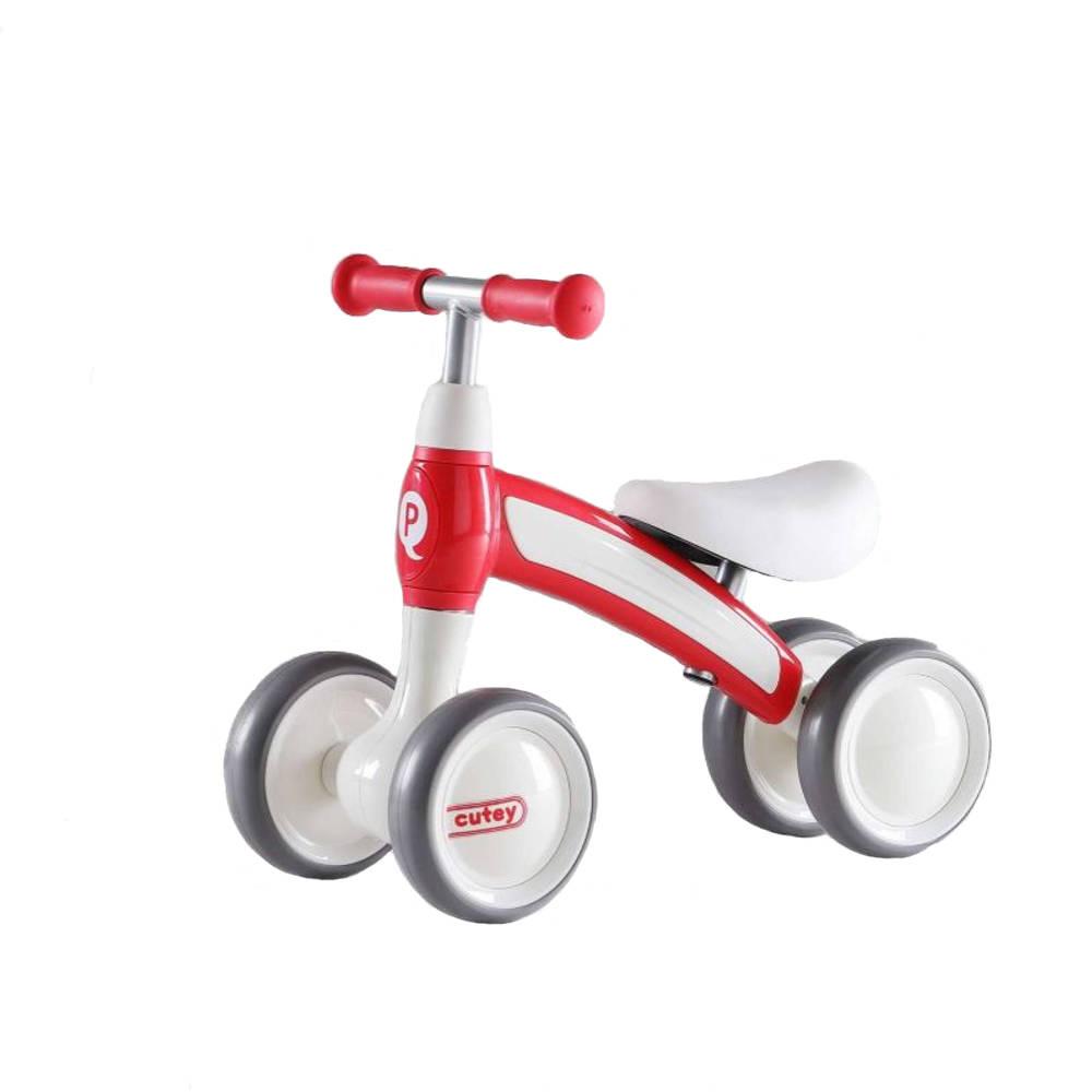 QPlay Cutey Ride loopfiets - 10 inch - rood