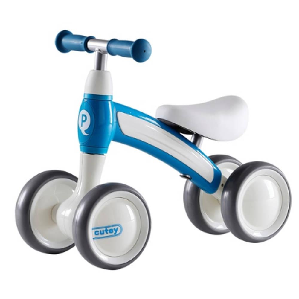 QPlay Cutey Ride loopfiets - 10 inch - blauw