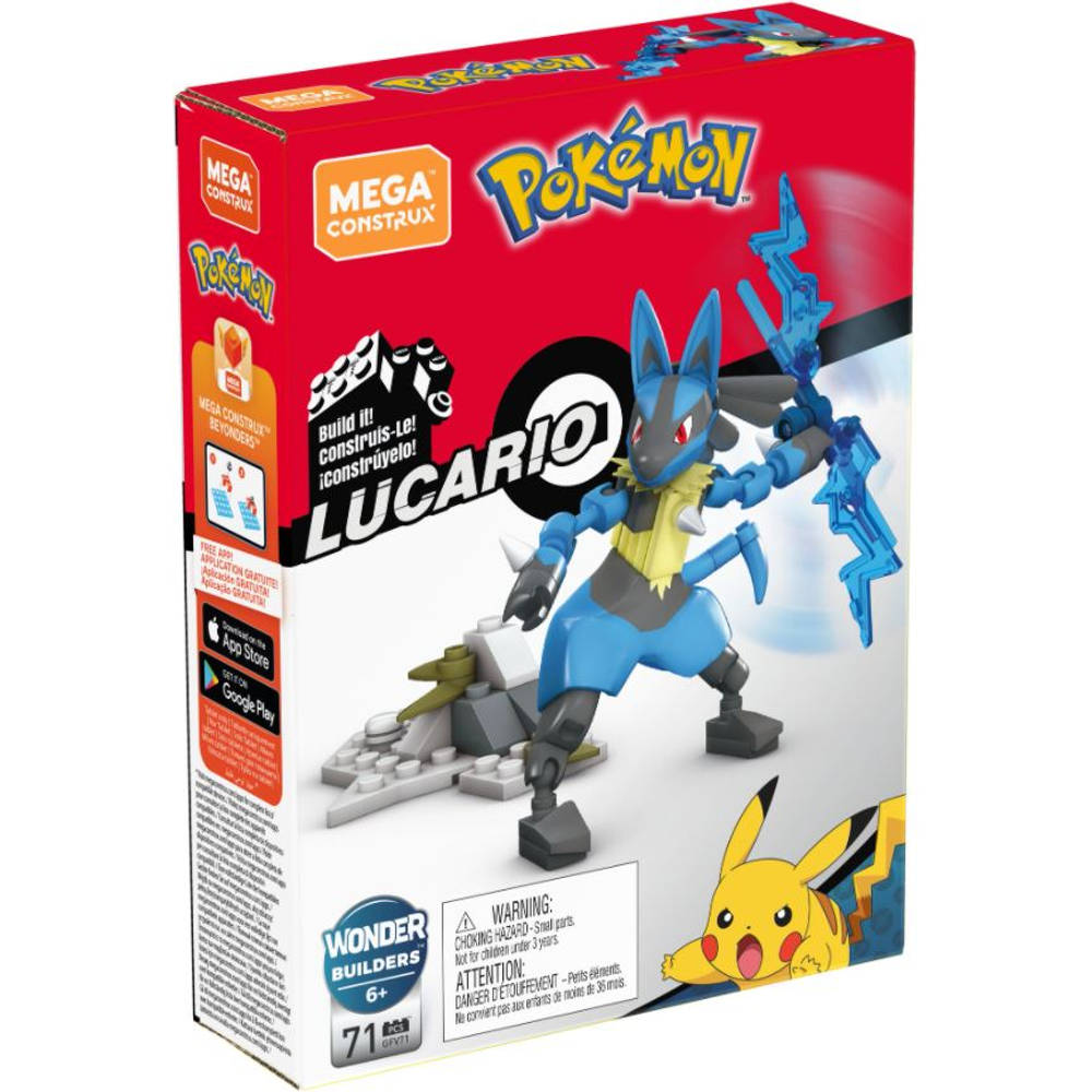 Mega Construx Pokémon Lucario bouwset