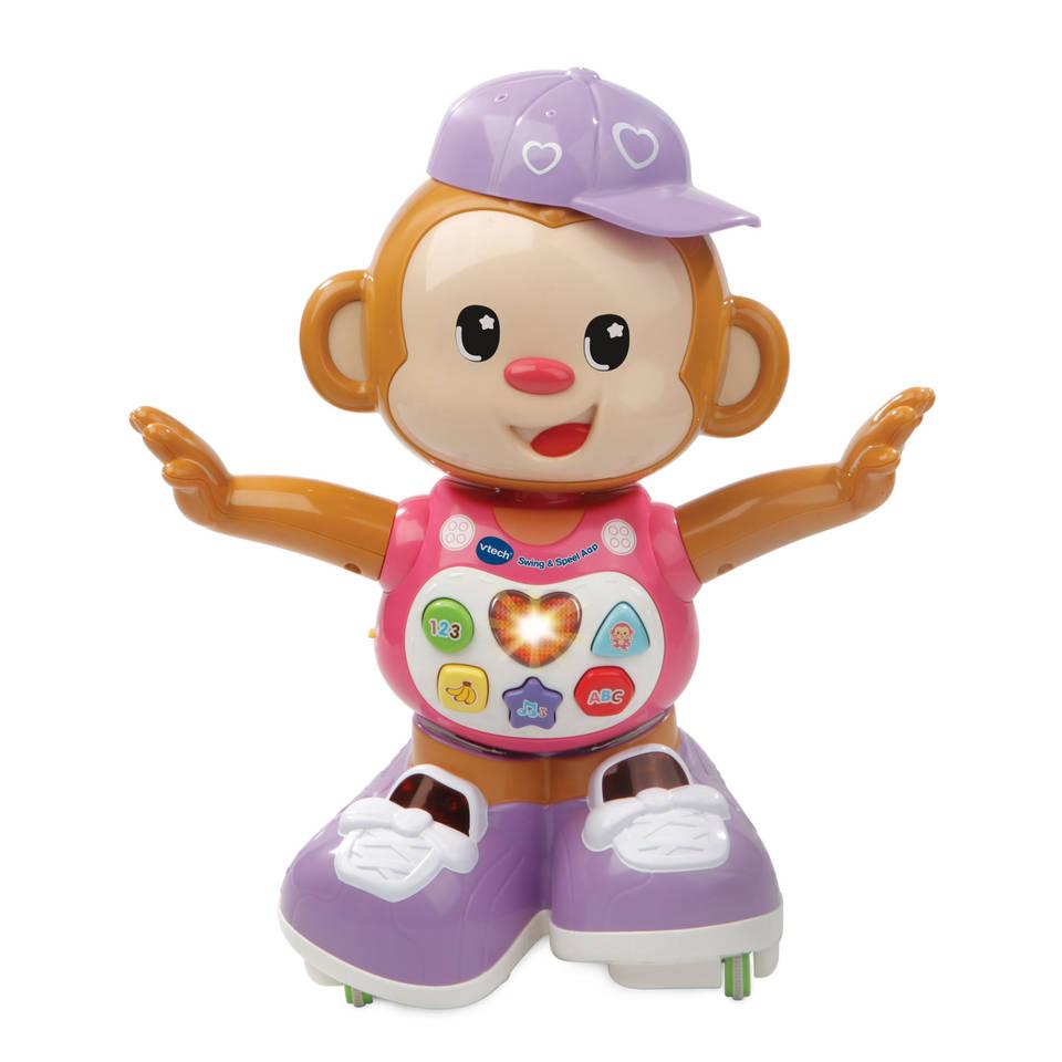 VTech Swing & Speel aap - roze