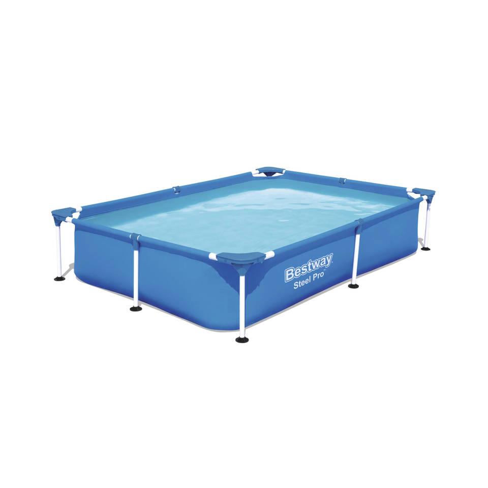 Bestway Steel Pro zwembad - 221 x 150 x 43 cm