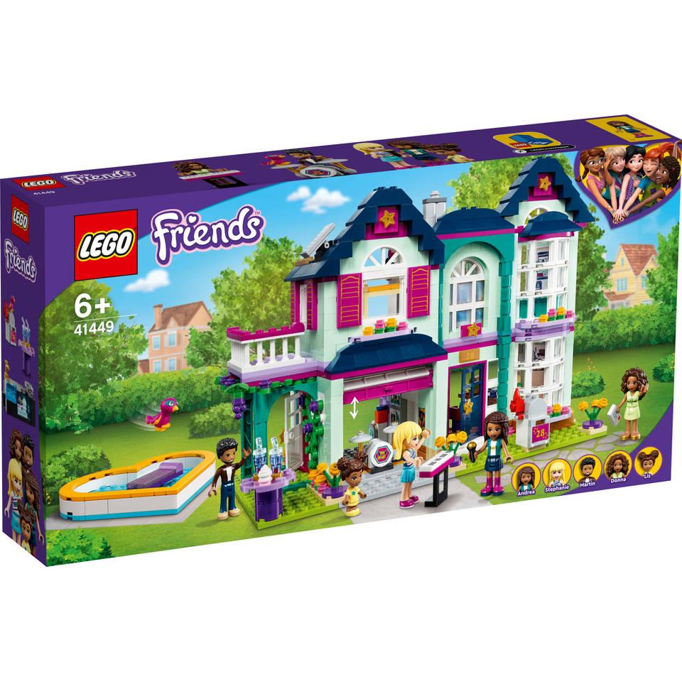LEGO Friends Andrea's familiehuis 41449