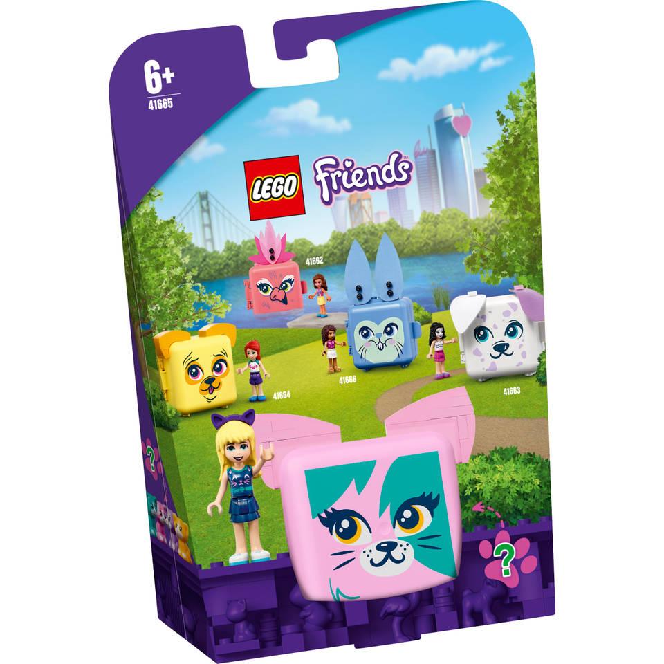 LEGO Friends Stephanies kattenkubus 41665