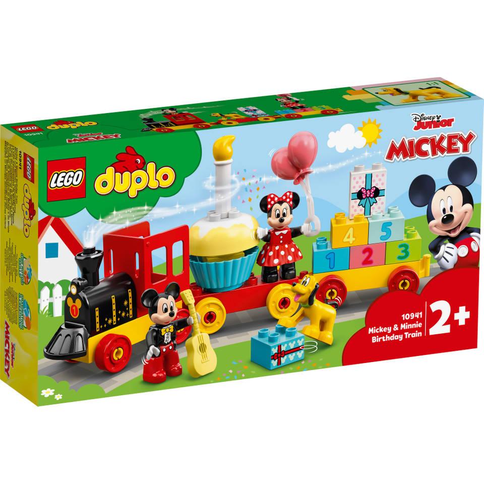 LEGO DUPLO Disney Mickey en Minnie verjaardagstrein 10941