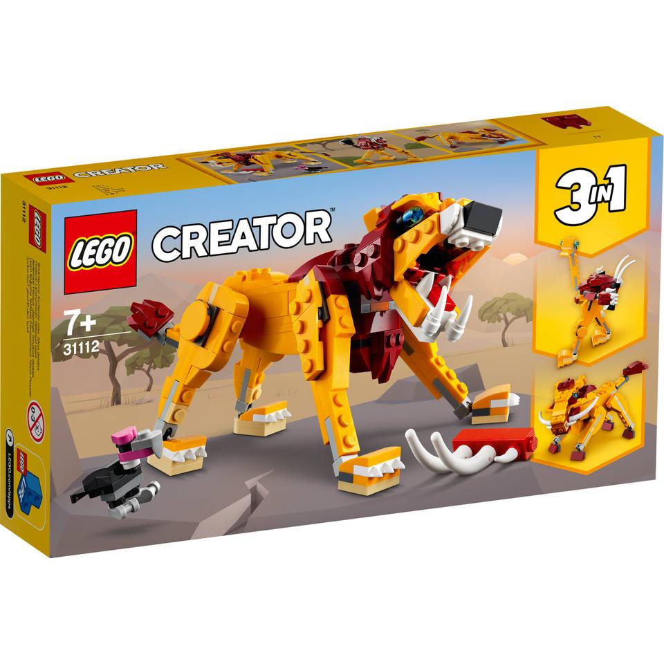 LEGO Creator wilde leeuw 31112