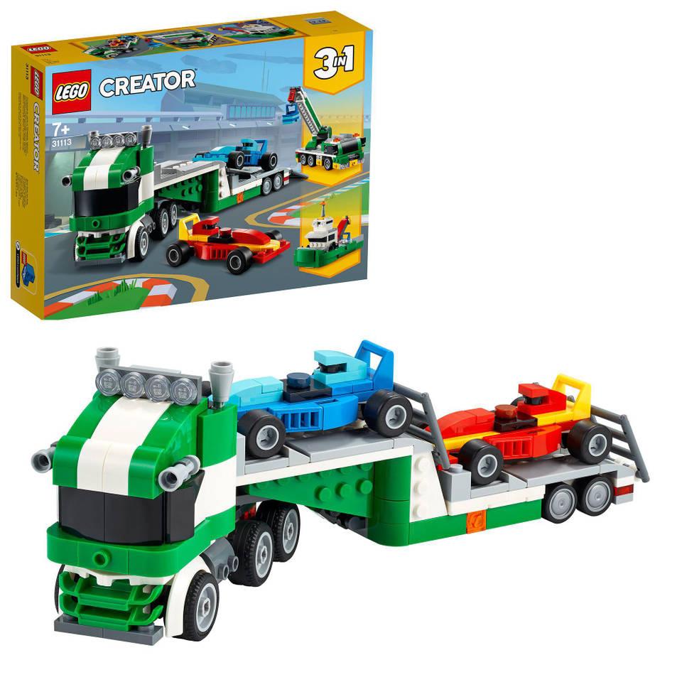 LEGO Creator racewagen transportvoertuig 31113