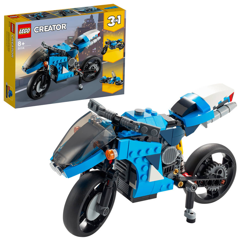 LEGO Creator snelle motor 31114