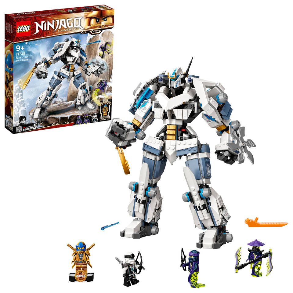 LEGO Ninjago Zane's titanium Mecha duel 71738