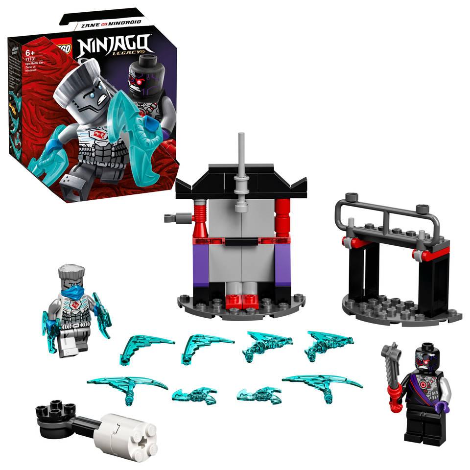 LEGO Ninjago epische strijd set Zane tegen Nindroid 71731