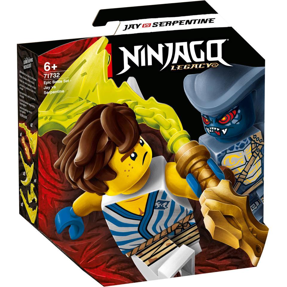 LEGO Ninjago epische strijd set Jay tegen Serpentine 71732