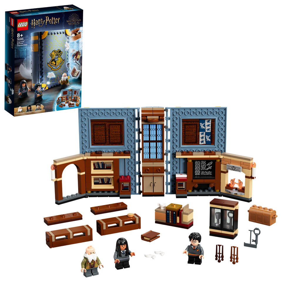 LEGO Harry Potter Zweinstein Moment toverspreukenles 76385