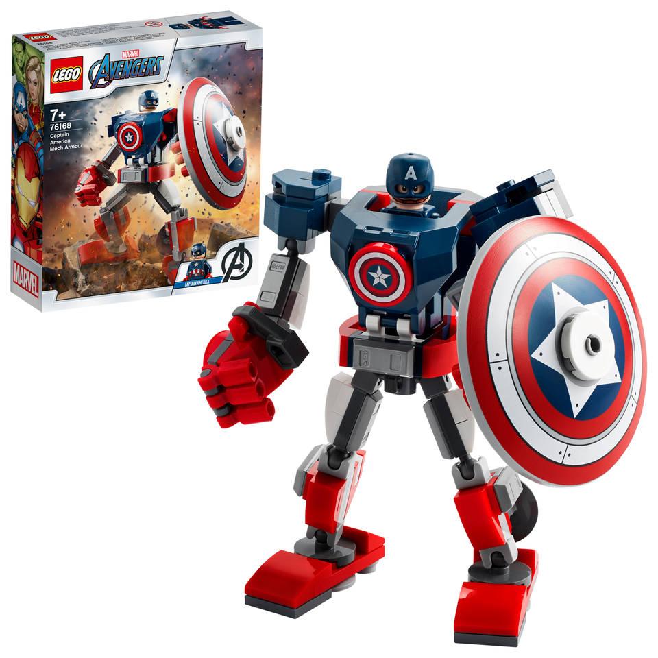 LEGO Marvel Super Heroes Captain America mechapantser 76168