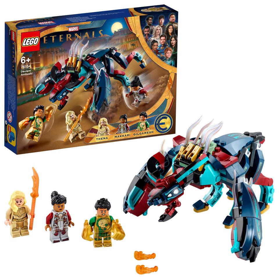 LEGO Marvel Super Heroes Eternals sluwe hinderlaag! 76154