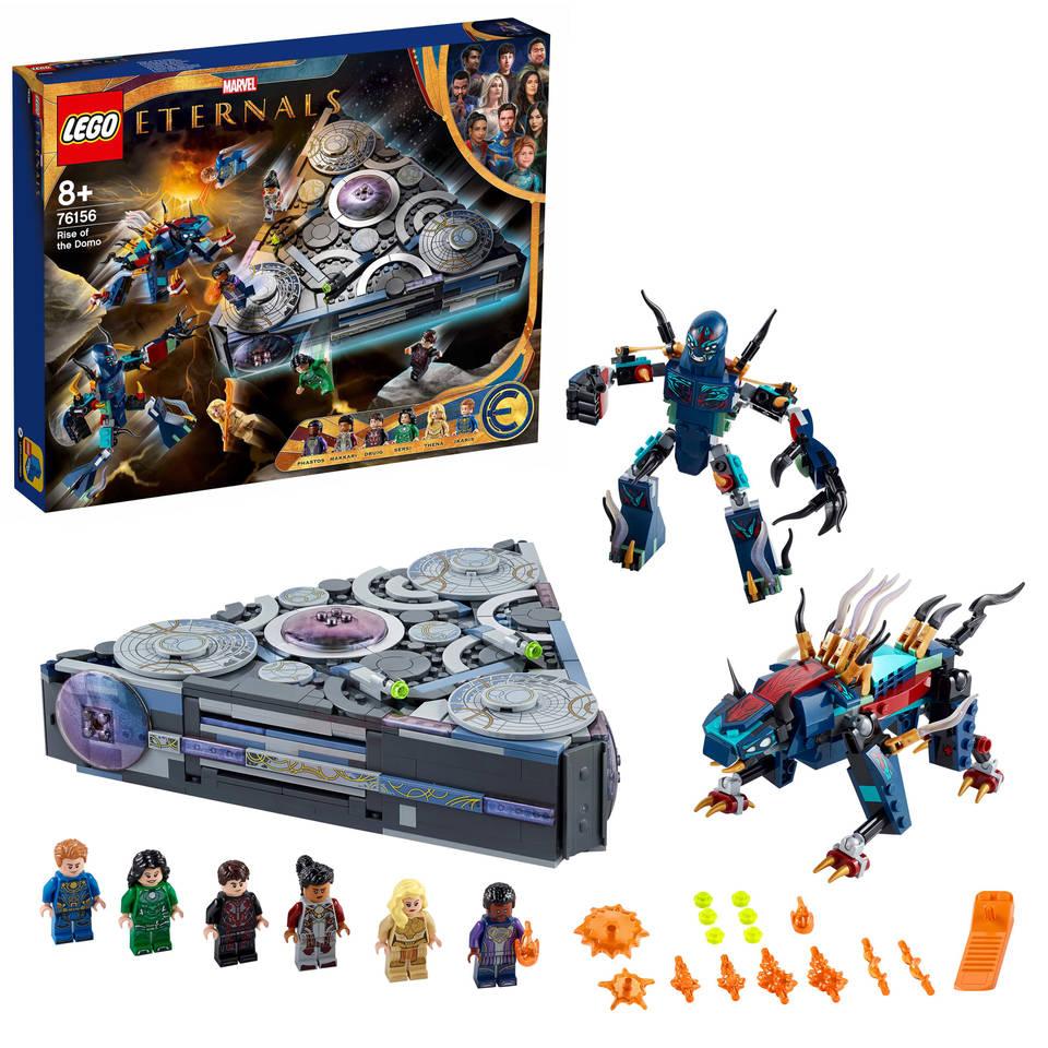 LEGO Marvel Super Heroes Eternals opkomst van de Domo 76156