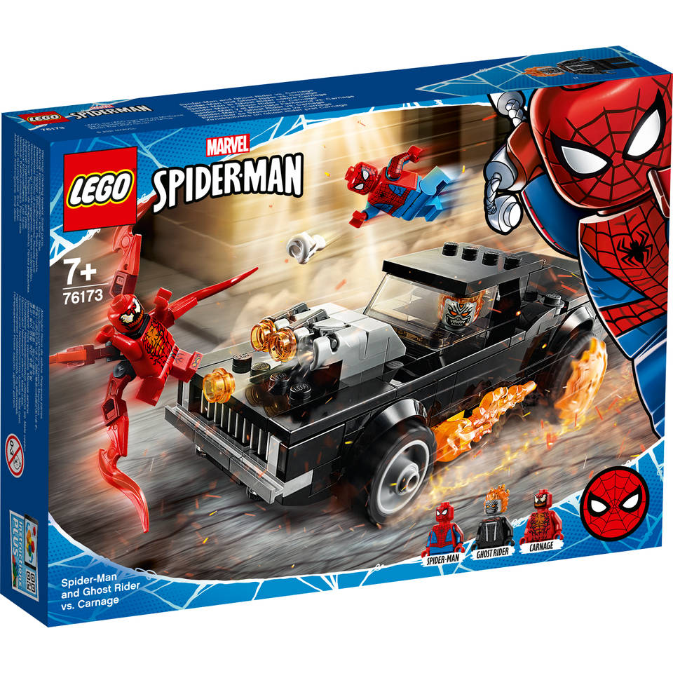 LEGO Marvel Super Heroes Spider-Man en Ghostrider vs Carnage 76173