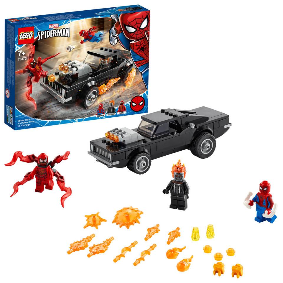 LEGO Marvel Super Heroes Spider-Man en Ghostrider vs Carnage 76173