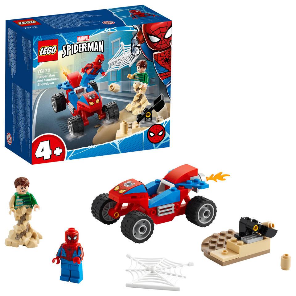 LEGO Marvel Super Heroes Spider-Man en Sandman duel 76172