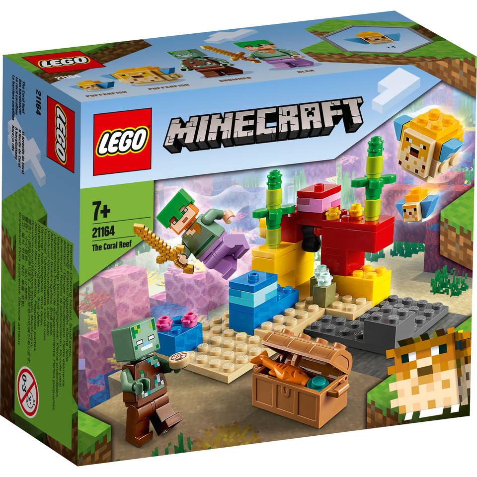 LEGO Minecraft het koraalrif 21164