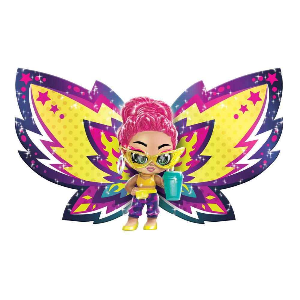 Hatchimals Pixies Wilder Wings Pixie met stoffen vleugels