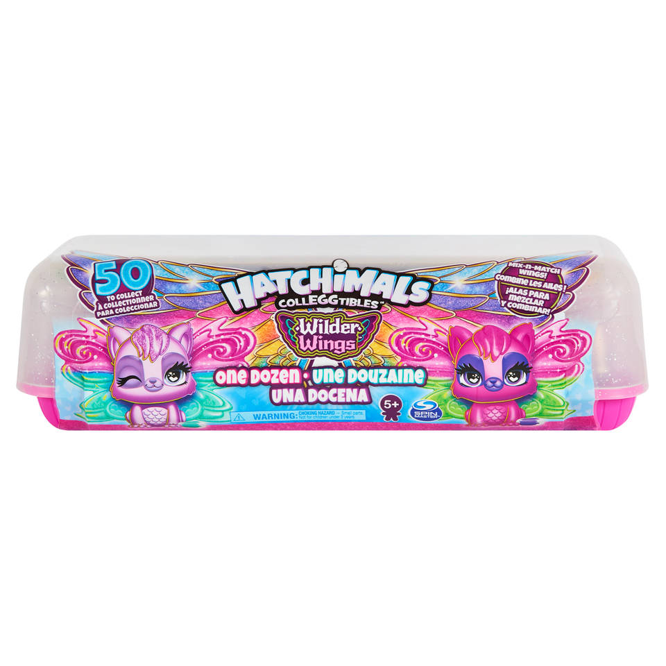 Hatchimals CollEGGtibles Wilder Wings 12-pack