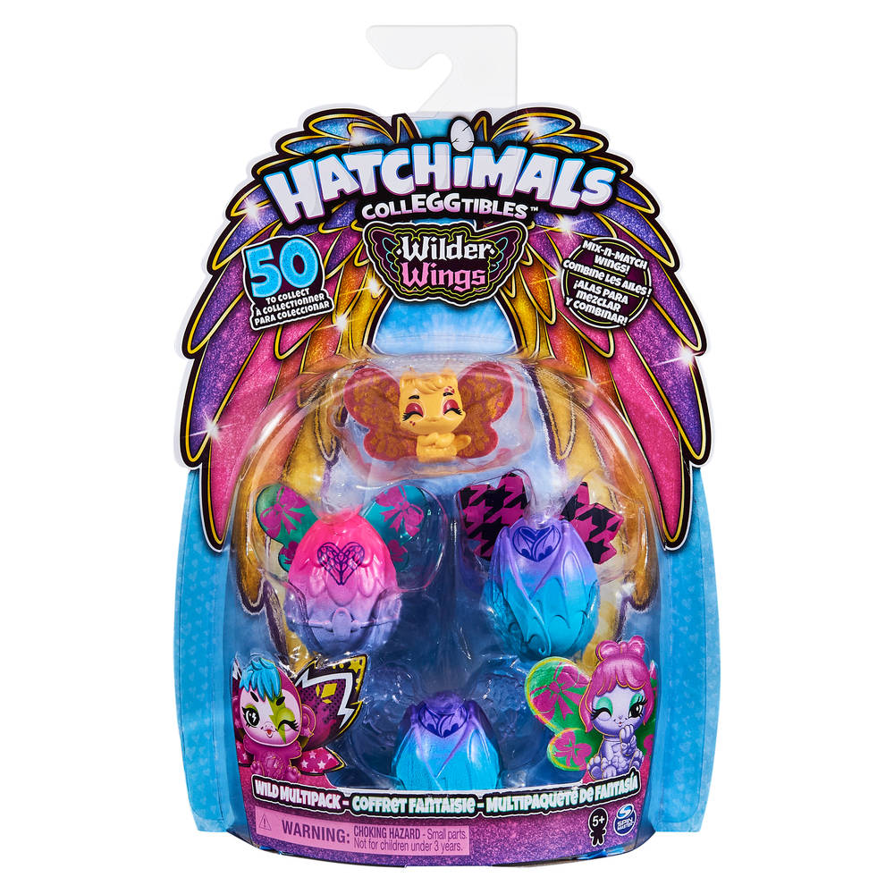 Hatchimals CollEGGtibles Wilder Wings multipack