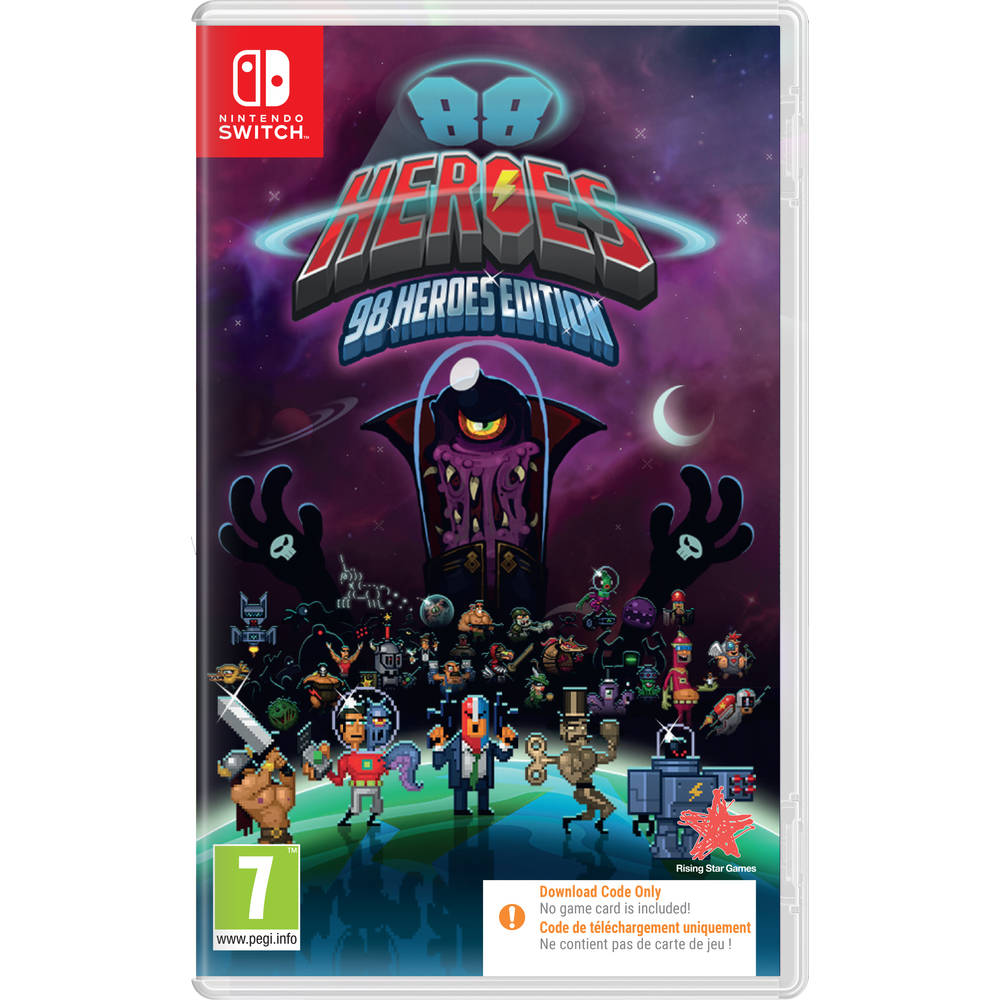 Nintendo Switch 88 Heroes - code in a box