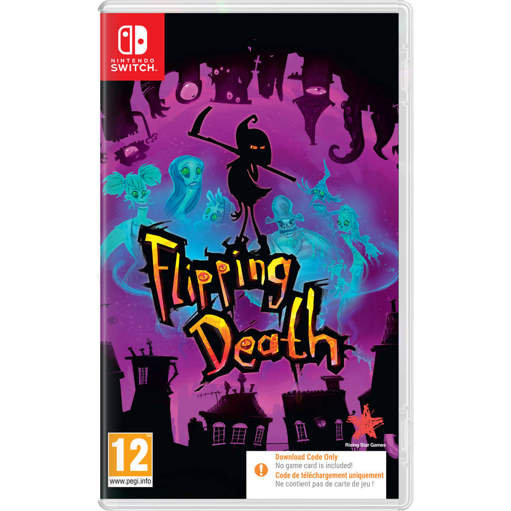 Nintendo Switch Flipping Death - code in a box