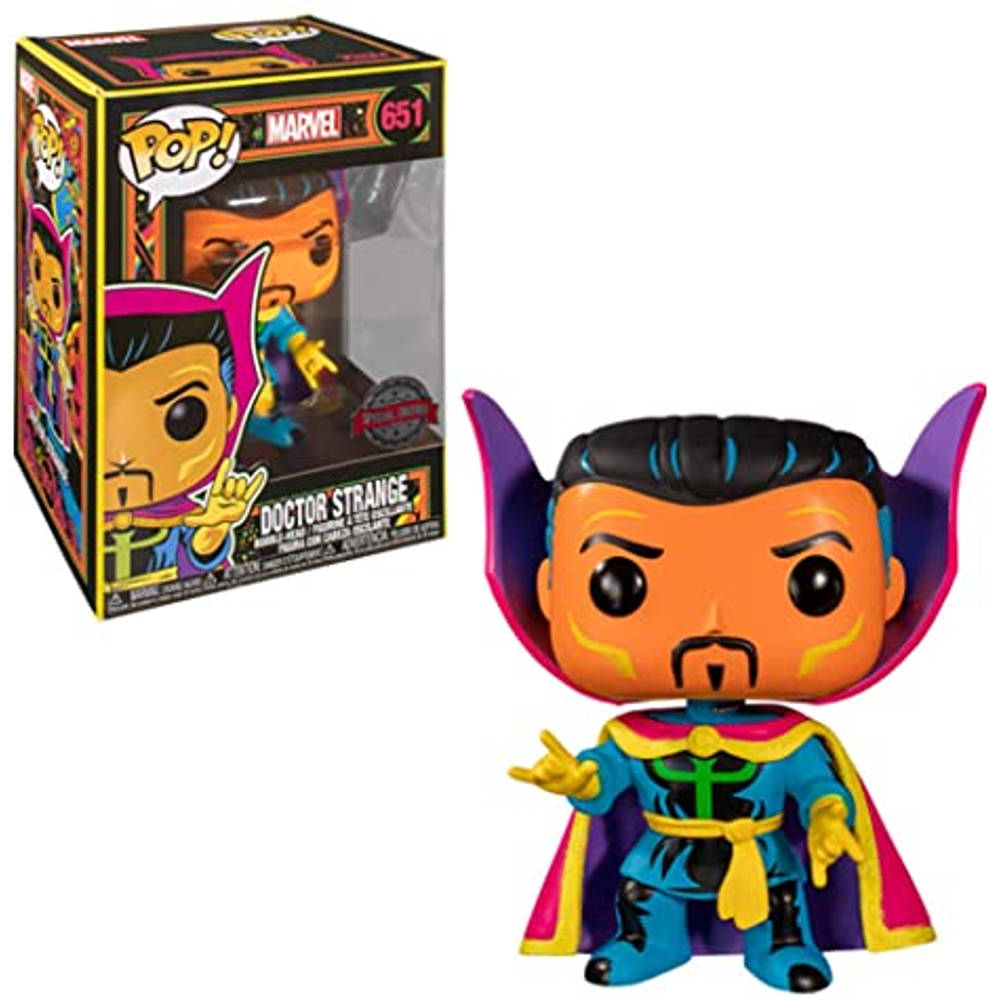 Funko Pop! figuur Black Light Dr. Strange Special Edition
