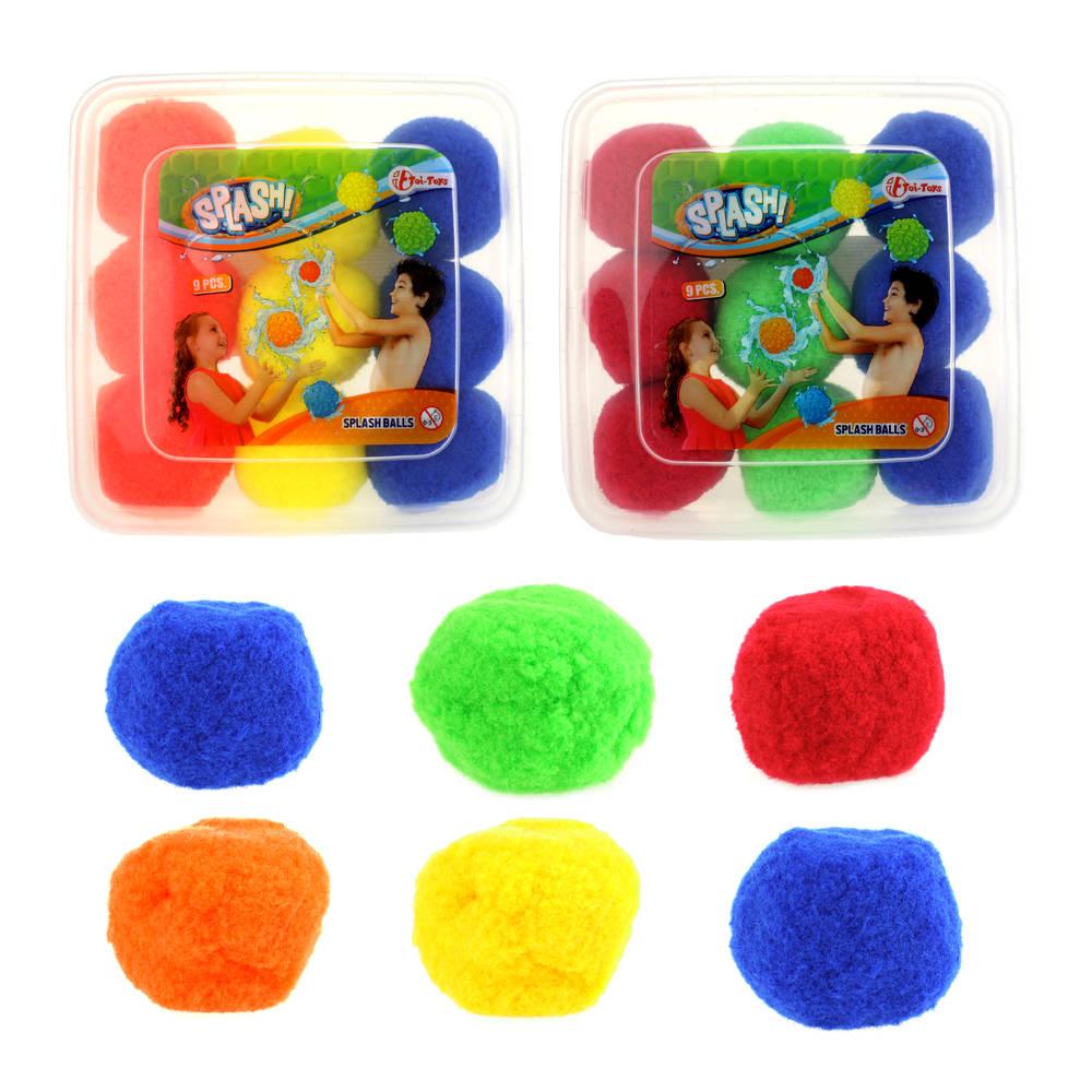 Splashballen set 9-delig
