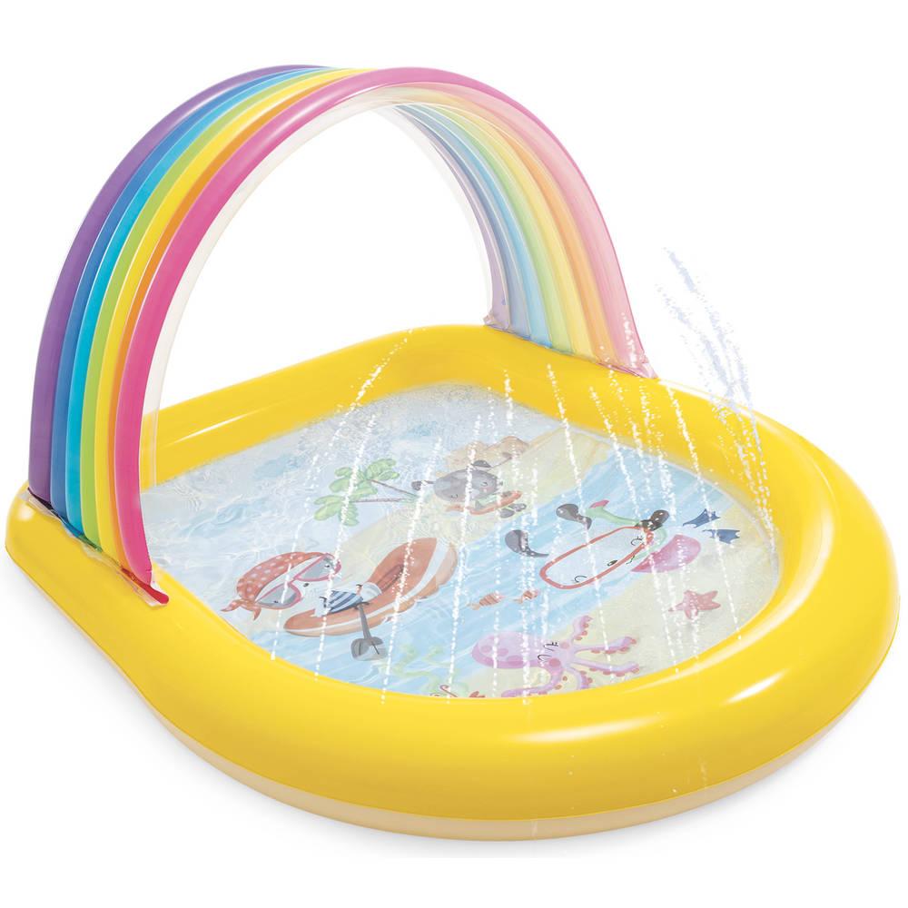 Intex zwembad regenboog - 147 x 130 x 86 cm