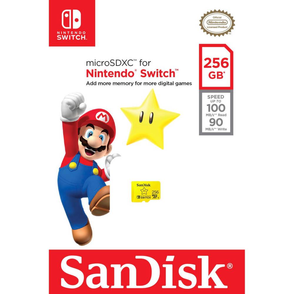 SanDisk MicroSDXC Extreme gaming 256 GB