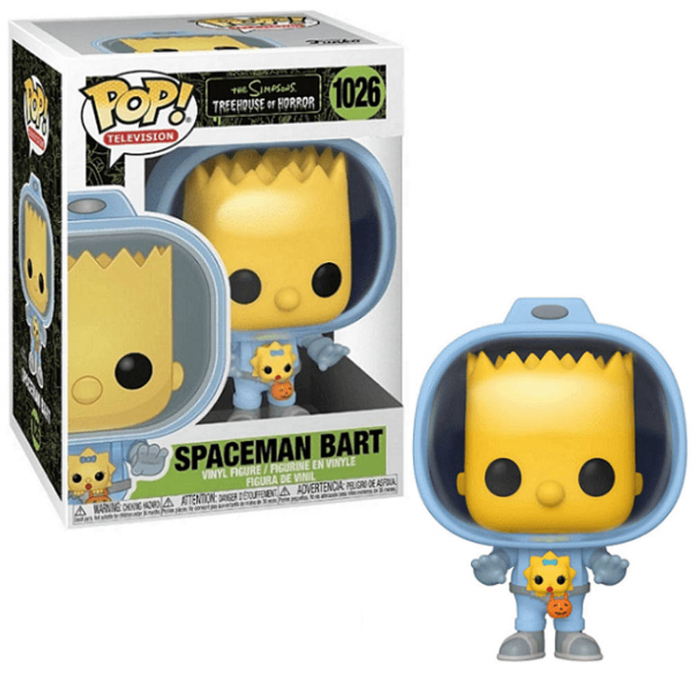 Funko Pop! figuur The Simpsons Spaceman Bart